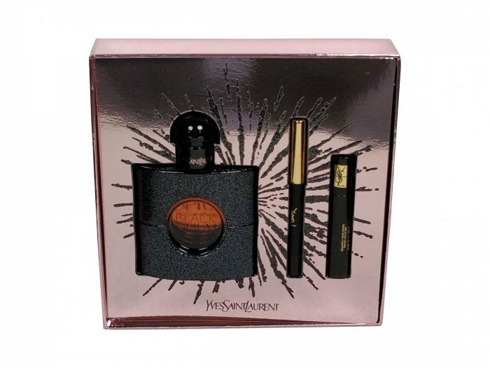Yves Saint Laurent - Black Opium - 50 ml eau de parfum + 2ml mini mascara + mini eye pencil 0.8 g Eau de parfum
