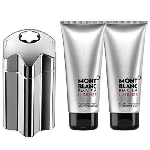 Mont Blanc - Emblem Intense 100ml eau de toilette + 100ml showergel + 100ml aftershave Eau de toilette