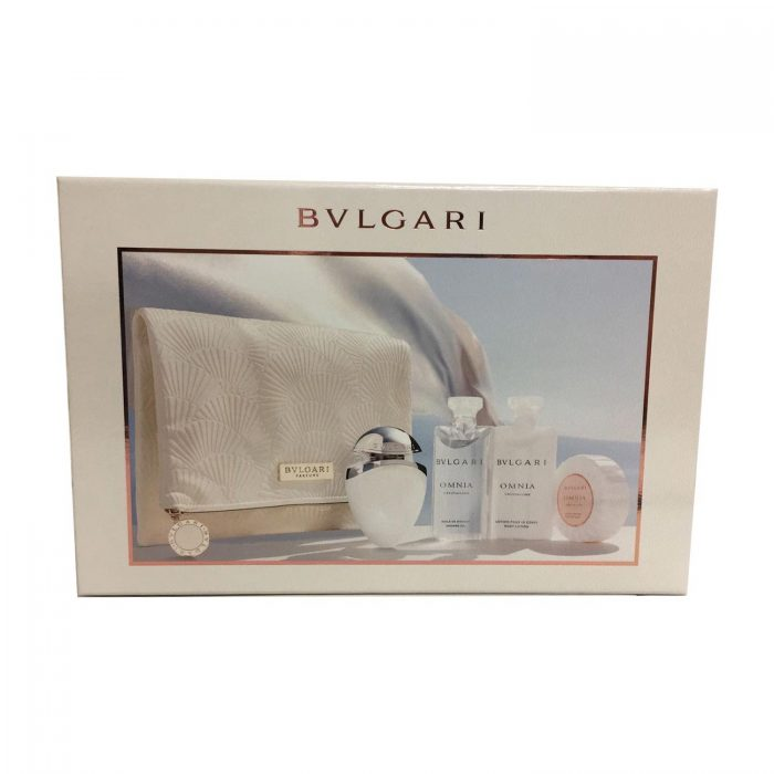 Bvlgari - Omnia Crystalline Gift Set 25ml EDT + 75 Body Lotion + 75ml Shower Oil + 75g Soap + Bag Eau de toilette