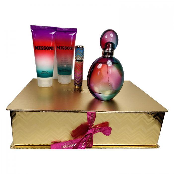 Missoni - Missoni 100ml eau de parfum + 10ml eau de parfum + 100ml douchegel + 100ml bodylotion Eau de parfum