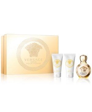 Versace - Eros 50ml eau de parfum + 50ml showergel + 50ml bodylotion Eau de parfum