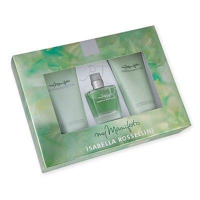 Isabella Rossellini - my Manifesto 75 ml Eau de parfum  + 200 ml Bodylotion + 200 ml showergel Eau de parfum