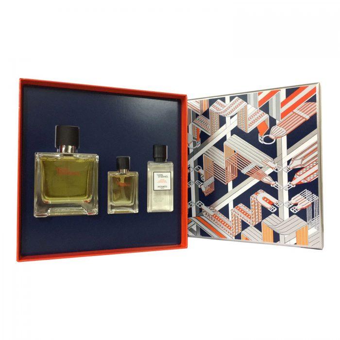 Hermes - Terre de hermes 75ml eau de parfum + 12.5ml eau de parfum + 40ml aftershave lotion Eau de parfum