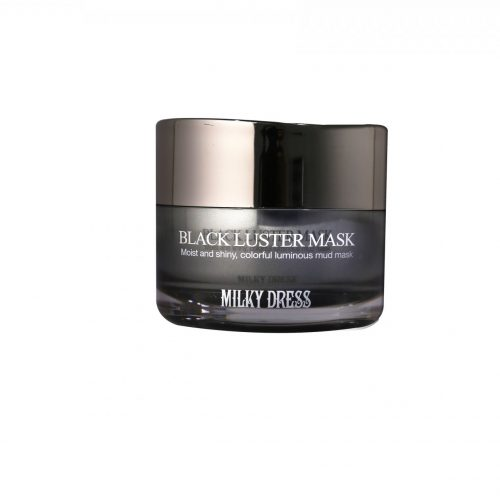 Milky Dress - Milky Dress Black Luster Mask