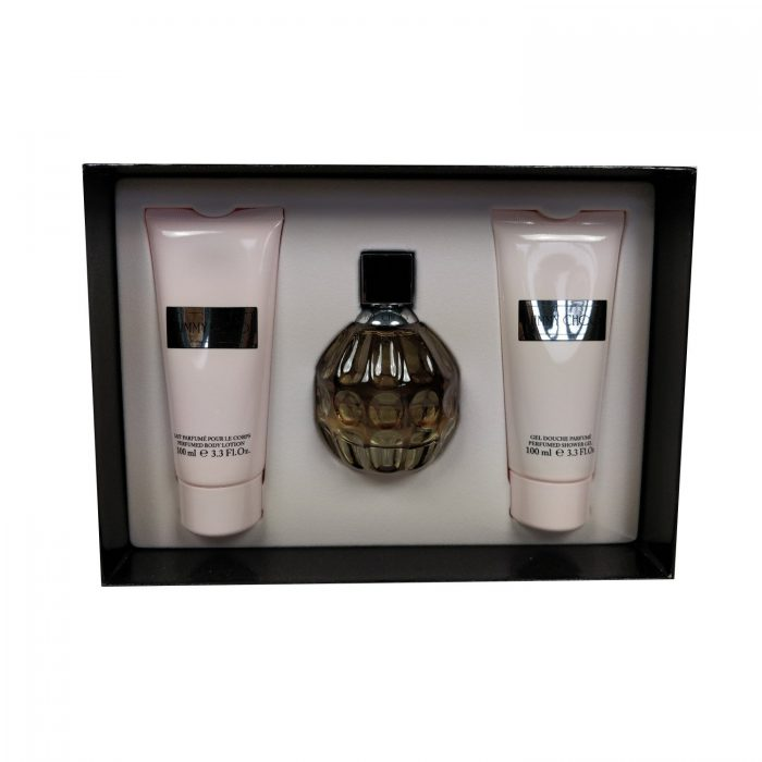 Jimmy Choo - Women 100ml eau de parfum + 100ml bodylotion + 100ml showergel Eau de parfum
