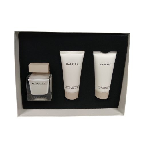 Narciso Rodriguez - Narciso 50ml eau de parfum + 50ml bodyltion + 50ml showergel Eau de parfum