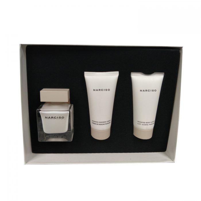 Narciso Rodriguez - Narciso 50ml eau de parfum + 50ml bodyltion + 50ml showergel Eau de parfum