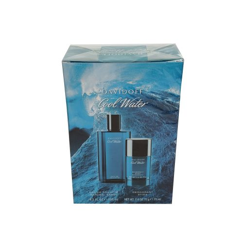 Davidoff - Cool water 125ml eau de toilette + 75ml deostick Eau de toilette