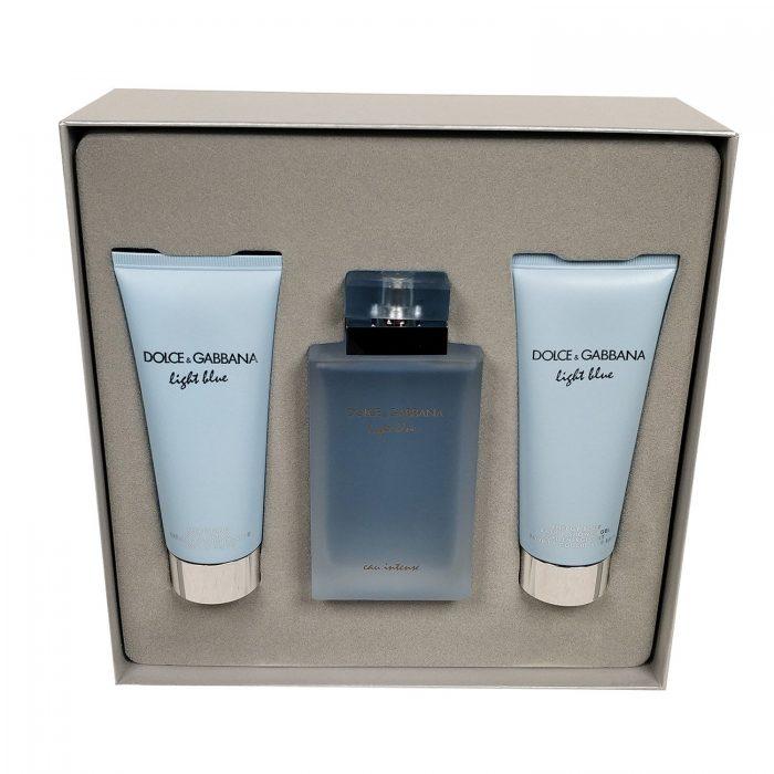 Dolce & Gabbana - Light Blue Eau Intense 100ml eau de parfum + 100ml showergel + 100ml bodylotion Eau de parfum