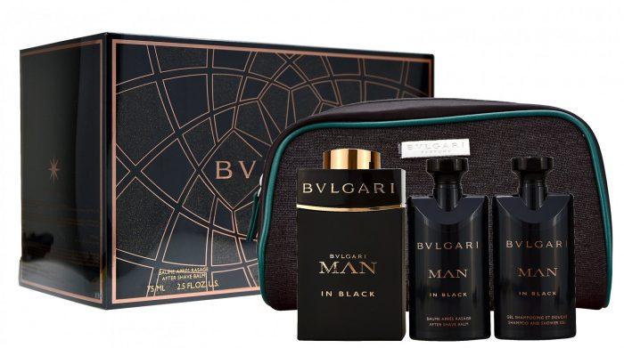 Bvlgari - Man in Black 100ml eau de parfum + 75ml showergel + 75ml aftershave Eau de parfum