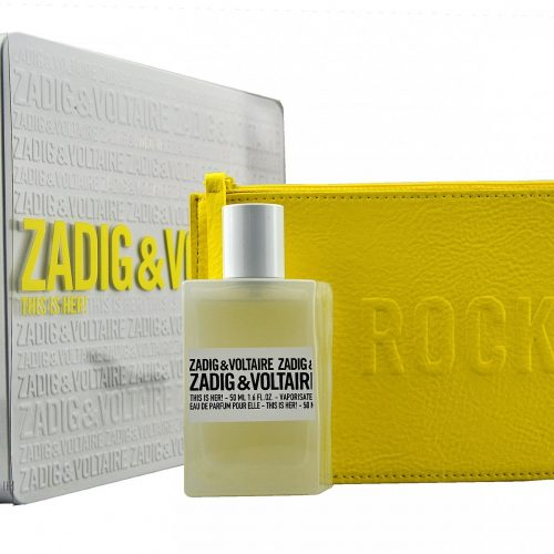 Zadig en Voltare - This is her Rock 50ml eau de parfum + Pouch Eau de parfum