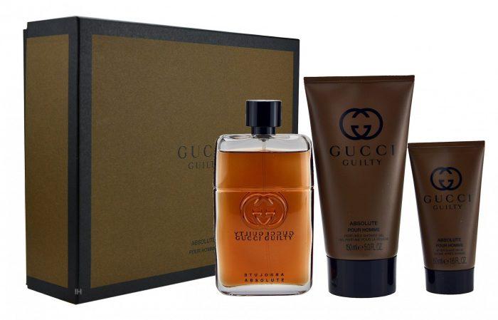 Gucci - Guilty Absolute 90ml eau de parfum + 150ml showergel + 50ml aftershave Eau de parfum