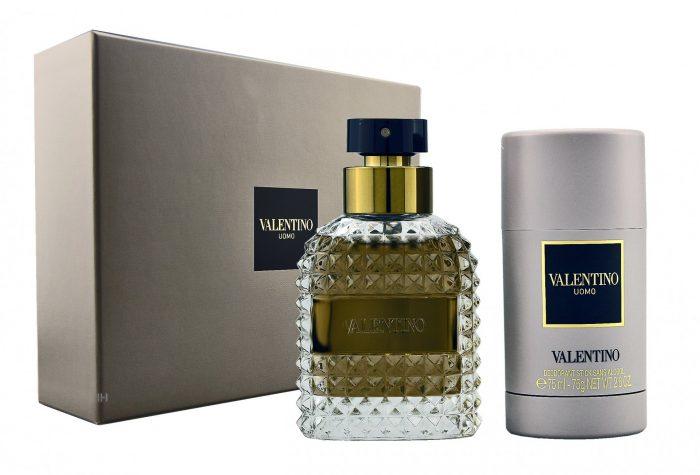 Valentino - Uomo 50ml eau de toilette + 75ml deostick Eau de toilette