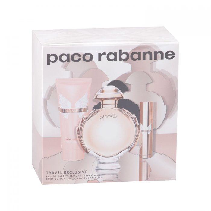 Paco Rabanne - Olympea 80ml eau de parfum + 10ml eau de parfum + 75ml bodylotion Eau de parfum