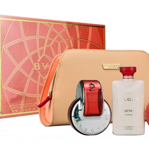 Bvlgari - Omnia Coral 65ml eau de toilette + 75ml bodylotion + 75ml soap Eau de toilette