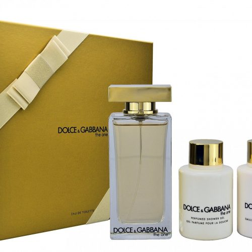 Dolce & Gabbana - The one 100ml eau de toilette + 100ml showergel + 100ml bodylotion Eau de toilette