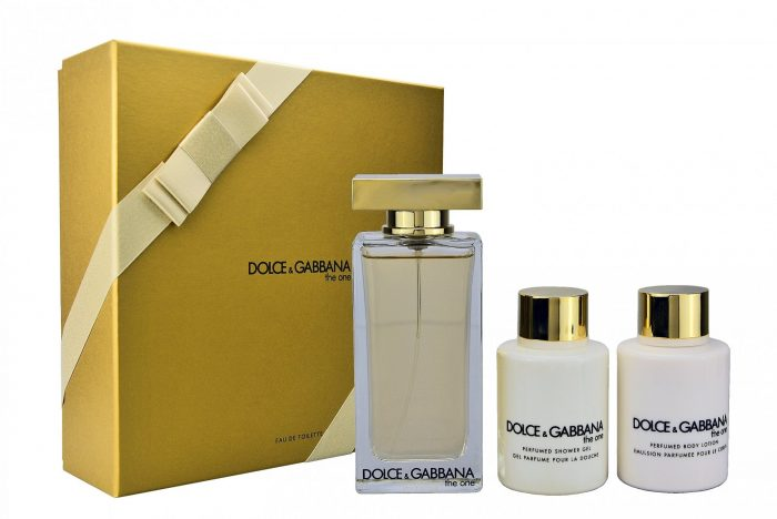 Dolce & Gabbana - The one 100ml eau de toilette + 100ml showergel + 100ml bodylotion Eau de toilette