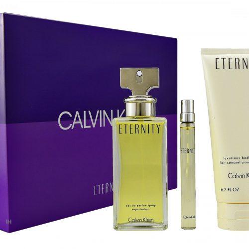 Calvin Klein - Eternity 100ml eau de parfum + 10ml eau de parfum + 200ml bodylotion Eau de parfum