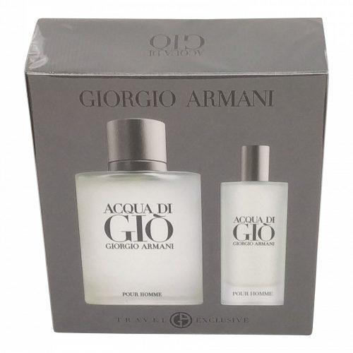 Armani - Acqua di gio 100ml eau de toilette + 15ml eau de toilette Eau de toilette