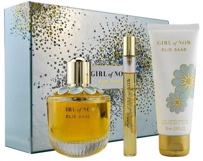 Elie Saab - Girl of now 90ml eau de parfum + 75ml bodylotion + 10ml eau de parfum Eau de parfum