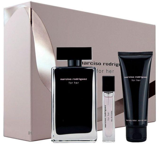 Narciso Rodriguez - For her 100ml eau de toilette + 75ml bodylotion + 10ml eau de toilette Eau de toilette