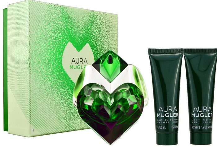 Thierry Mugler - Aura 30ml eau de parfum + 50ml showergel + 50ml bodylotion Eau de parfum