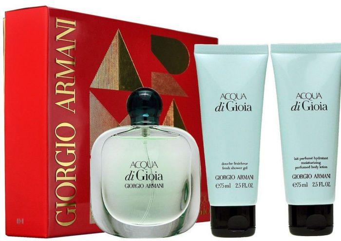 Armani - Acqua di Gioia 100ml eau de parfum + 75ml showergel + 75ml bodylotion Eau de parfum