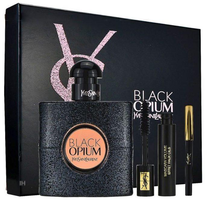 Yves Saint Laurent - Black Opium 50ml eau de parfum + 2ml Mascara + Eye pencil Eau de parfum