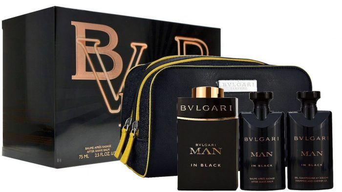 Bvlgari - Man in Black 100ml eau de parfum + 75ml showergel + 75ml aftershave Eau de parfum