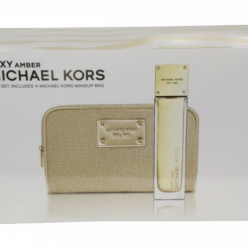 Michael Kors - Sexy Amber 100ml EDP Spray / Cosmetics Case Eau de parfum
