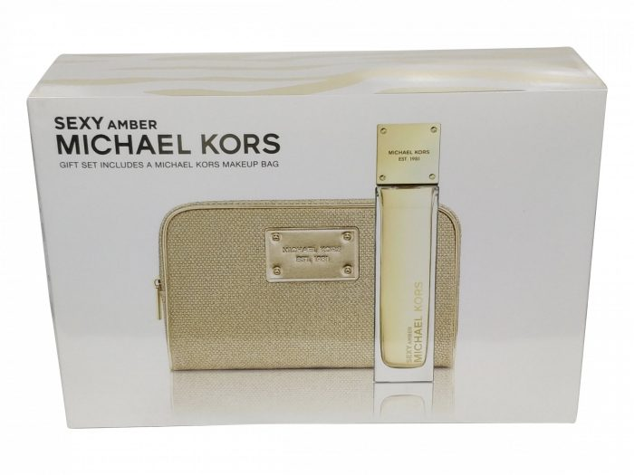 Michael Kors - Sexy Amber 100ml EDP Spray / Cosmetics Case Eau de parfum