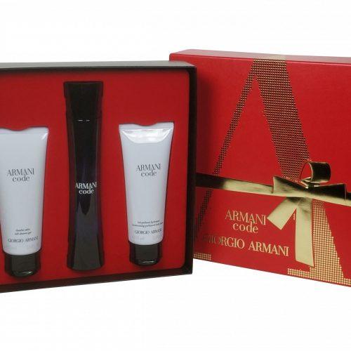 Armani - Code femme 75ml eau de parfum + 75ml bodylotion + 75ml showergel Eau de parfum