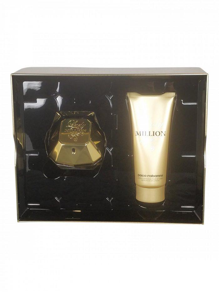 Paco Rabanne - Lady Million 80ml eau de parfum + 100ml Bodylotion Eau de parfum
