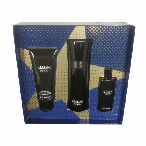 Armani - Code men 75ml eau de toilette + 15ml eau de toilette + 75ml showergel Eau de toilette
