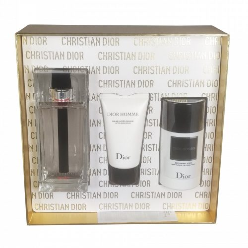 Dior - Homme sport 125ml eau de toilette + 50ml aftershave balm + 75ml deostick Eau de toilette