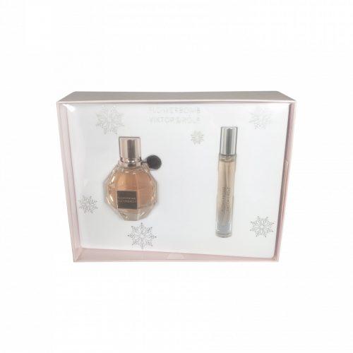 Viktor & Rolf - Flowerbomb 50ml eau de parfum + 7.5ml eau de parfum travel spray Eau de parfum