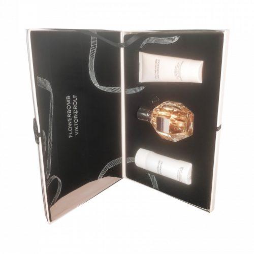 Viktor & Rolf - Flowerbomb 50ml eau de parfum + 50ml showergel + 40ml bodylotion Eau de parfum