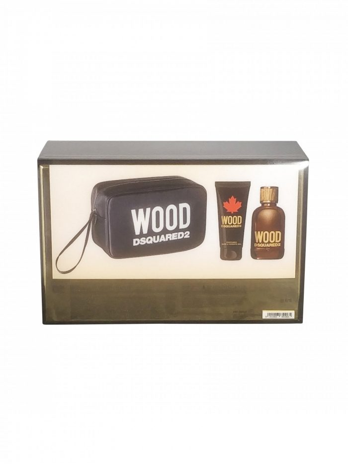 Dsquared - He wood 100ml eau de toilette + 100ml showergel + toiletbag Eau de toilette