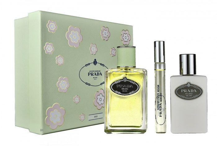 Prada - Infusion D'Iris 100ml eau de parfum + 100ml bodylotion + 10ml eau de parfum Roll on Eau de parfum